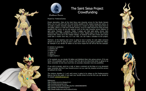 The Saint Seiya Project Crowdfunding by EvilEliot