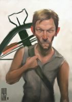 Norman Reedus, Daryl Dixon by Parpa
