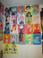 Teen Titans Wall! by SeraphinaPitchiner