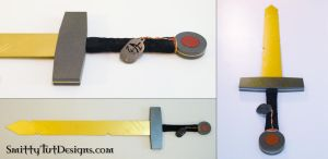 Adventure Time: Finns Sword by Smitty-Tut