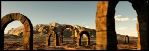 Roman Arch by EYADSTUDIO