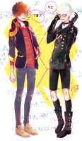 707 and 9S! by MonkeyHazard