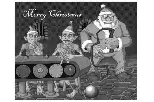 Christmas Card 2007 by TomBerryArtist