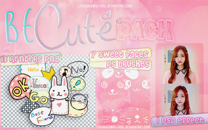 +BE CUTE {Pack} by StrangerWolfGirl