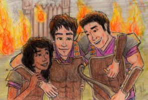 Hazel, Percy and Frank SoN by ana-wandmaker