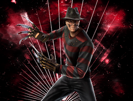 .:Freddy Krueger:. by LivingDeadSuperstar