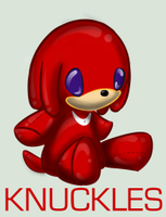 Plushie Collection: Knuckles by WingedHippocampus
