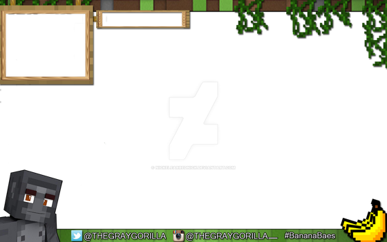 GrayGorilla 24Hour Livestream Overlay *Commission* by NickelEarredNick