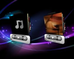 3D Music Player for xwidget by Jimking