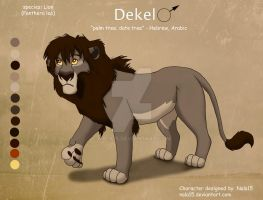 Dekel - Custom Character Commission by Nala15