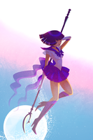 Sailor Saturn by jisook86