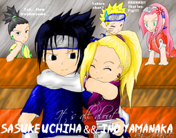 Naruto - S'all about SasuIno by LiLcreativepinay