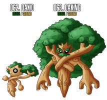 fakemon: 62 - 63 by MTC-Studio