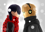 Miraculous Ladybug: Secret by EzmeAG98
