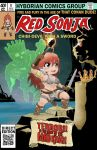 Chibi Red Sonja and the Mad King (cover) by MichaelLinkJr