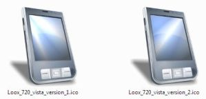 PocketLoox 720 Vista Icons by Jorlin