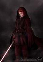 .: the rise of Darth Vader :. redraw by CaptainPinsel
