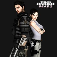 Lara Croft and Micheal Becket by toughraid3r37890