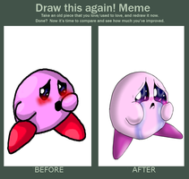 Before and After Meme - Poyo (='^'=) by Kendulun-the-Kihoryu