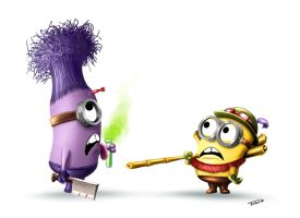Minions-league by tosca-camaieu