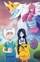 Adventure Time - Save That Princess by marcotte