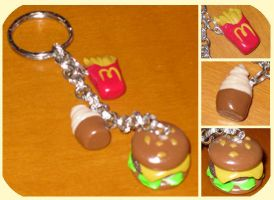 Mc Donald's keychain by Yle87