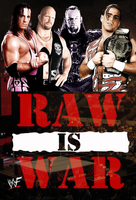 Raw is War Poster by hrustom