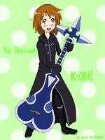 Yui Stole the Precious Sitar by Ririkaze