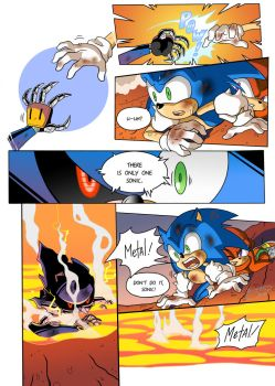''Sonic the Movie'' redraw Page 2 by FinikArt