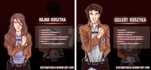 SNK OC's - Hajna and Gellert by KaitouHyuuga