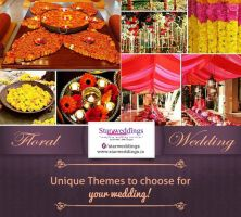 Floral Decoration for Wedding by starweddings