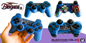 Disgaea PS3 Controller by ricepuppet