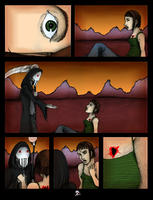 Mr Death pg 2 :silent: by bowie-lover