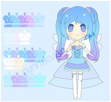 Ice Adoptable {CLOSED} by Bunri