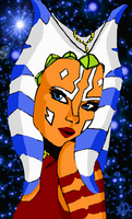 Ahsoka Tano, Future Jedi Knight by Chrisily