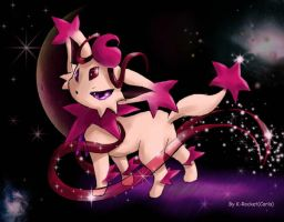 Fakemon -  Stareon by MistressAinley