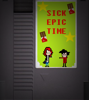Sick EPIC TIME NES by SickComics