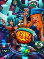 Halloween party by Wenart