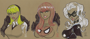 The Loves of Peter Parker by Hodges-Art