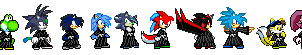 Red Flash's group Soul Reapers by firenamedBob