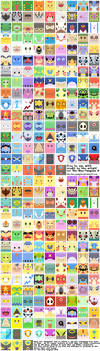 Free Avatars: All Hoenn Pokemon by The-Blue-Pangolin