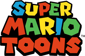 ''Super Mario Toons'' Logo (for SuperMarioSFM) by C-E-Studio