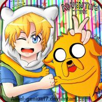 Doodle (fin And Jake) by Amel-Genius17