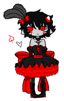 cancan throwback by queenofdavekat