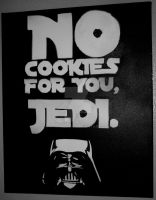 Darth Vader - No cookies for you, Jedi. by StormCat16