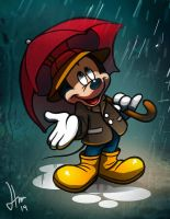 Mickey Mouse by Spartan0627
