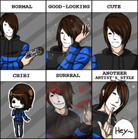 Style Meme - GermanLetsPlay by RozeAkane