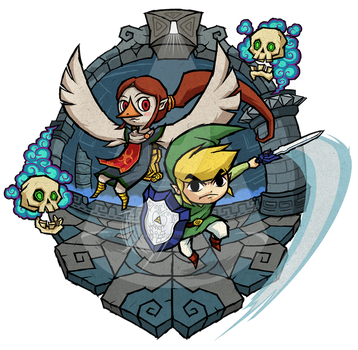 The Wind Waker: Earth Temple by Purrdemonium