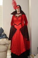 Masquerade Ball Gown by KittenKreationsTampa