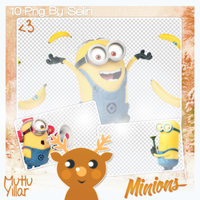 #MinionsPNGPack. (5) by dieforselena